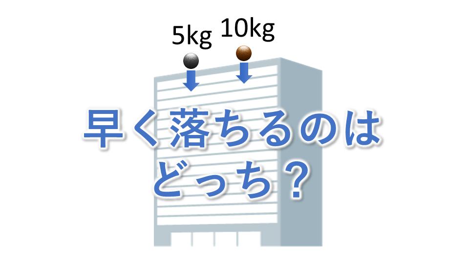 あなたの物理リテラシーが試される!素朴概念クイズ!
