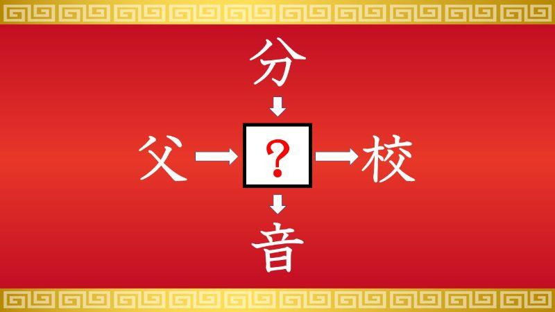 思いつくとスッキリ!虫食い漢字クイズ その43