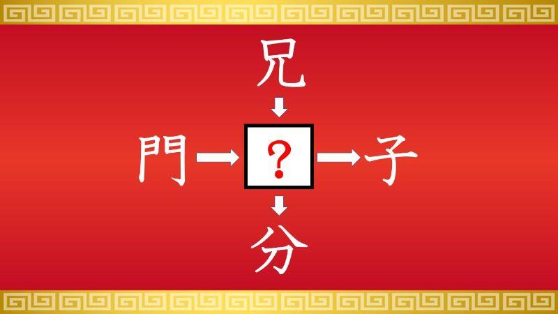 思いつくとスッキリ!虫食い漢字クイズ その57