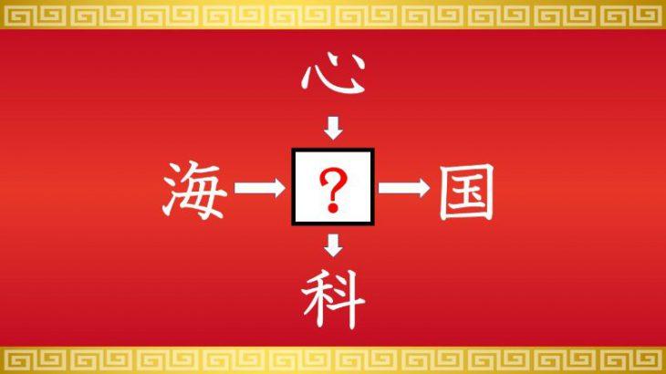 虫食い漢字クイズ