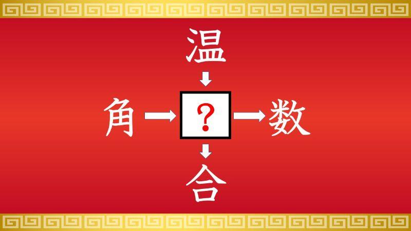 思いつくとスッキリ!虫食い漢字クイズ その118