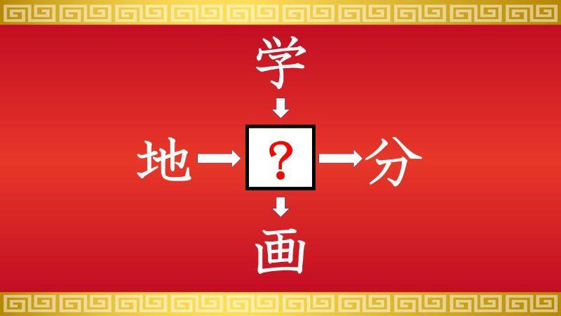 思いつくとスッキリ!虫食い漢字クイズ その137