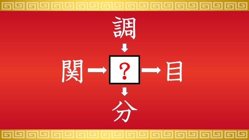 思いつくとスッキリ!虫食い漢字クイズ その182