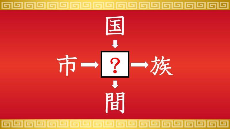 思いつくとスッキリ!虫食い漢字クイズ その184