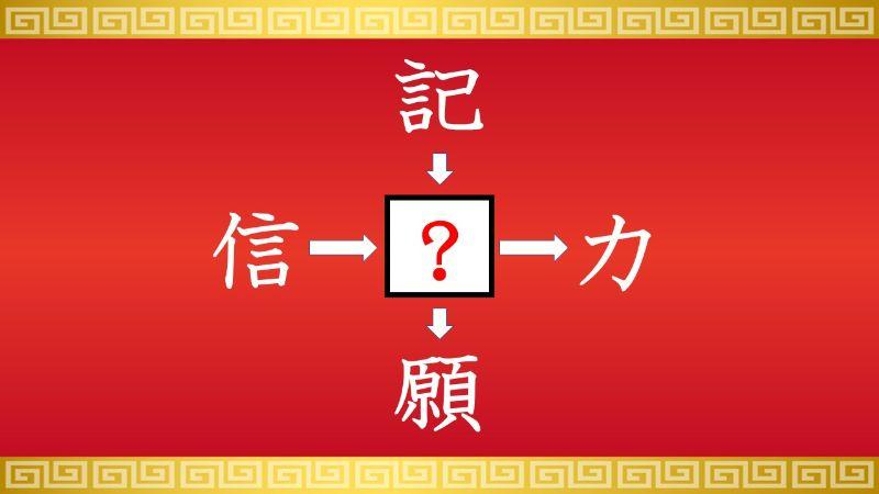 思いつくとスッキリ!虫食い漢字クイズ その199
