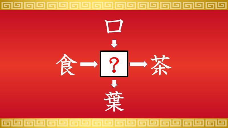 思いつくとスッキリ!虫食い漢字クイズ その381