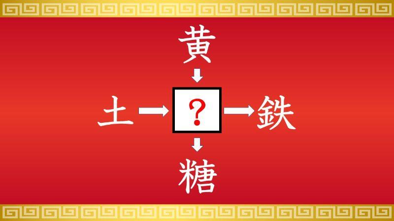 思いつくとスッキリ!虫食い漢字クイズ その416