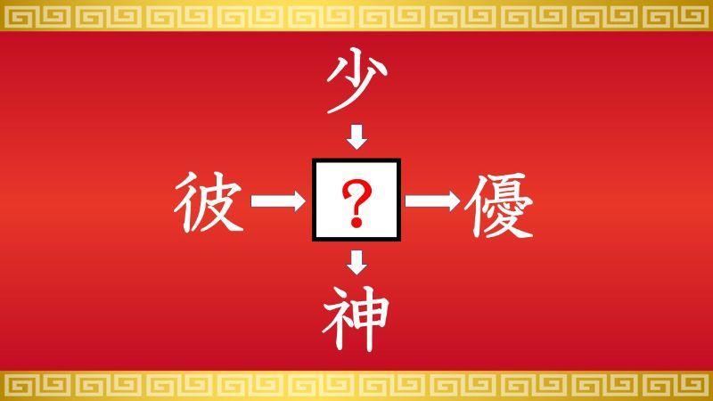 思いつくとスッキリ!虫食い漢字クイズ その523