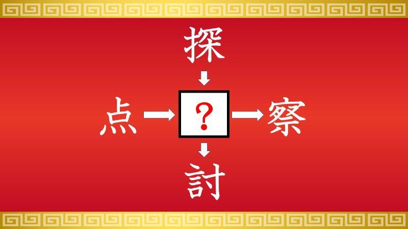 思いつくとスッキリ!虫食い漢字クイズ その542