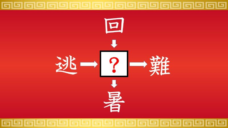 思いつくとスッキリ!虫食い漢字クイズ その544