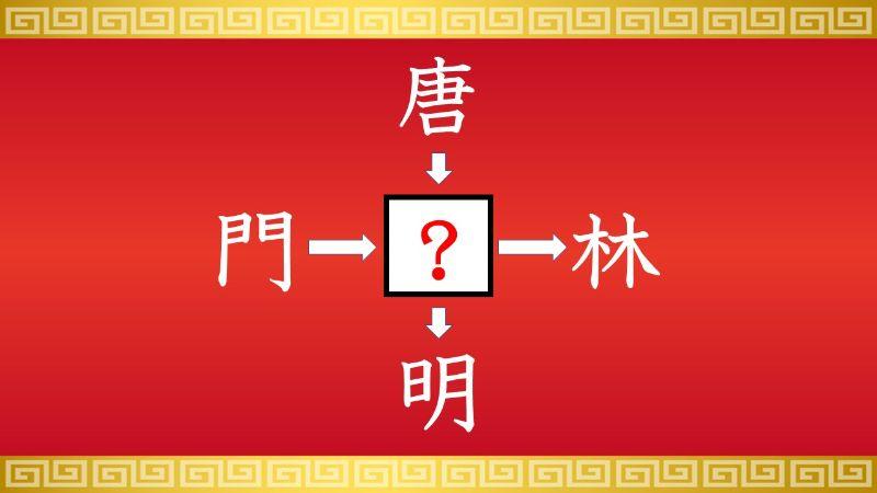 思いつくとスッキリ!虫食い漢字クイズ その576
