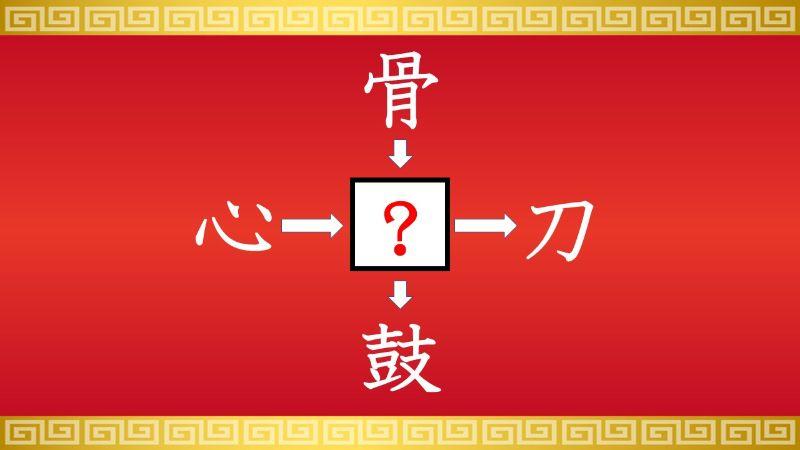 思いつくとスッキリ!虫食い漢字クイズ その587