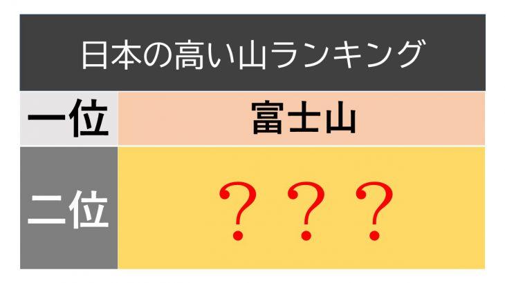 意外と知らない2番目クイズ!
